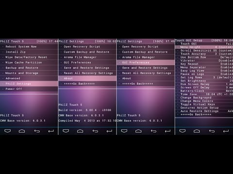 PhilZ CWM Recovery Installation & Features For Galaxy Core GT-I8262/8260