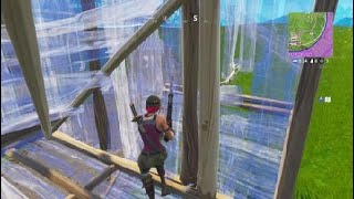 Fortnite 430 DAMAGE GLITCH AND HITTING SNIPE WHILE GLIDING AND Ghoul Trooper killed by me.
