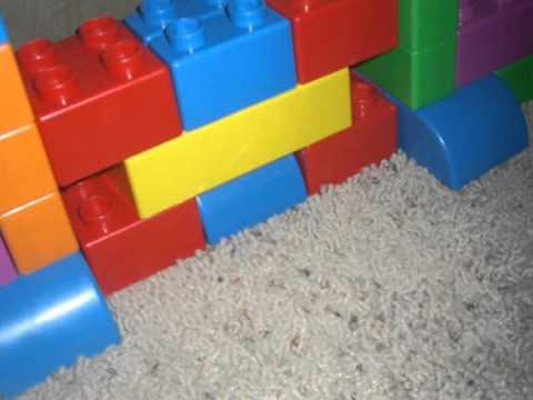 Building Bowser's Castle with LEGO Quatro Blocks
