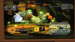 Monster Lab - Wii - GC 2008 Combat Gameplay
