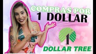 COMPRAS DOLLAR TREE ORLANDO - TUDO POR 1 DOLLAR | POR CAROL GOMES