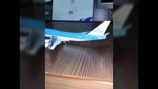 Video KLM Boeing 747 Herpa Wings model Unboxing download MP3, 3GP, MP4, WEBM, AVI, FLV Agustus 2018