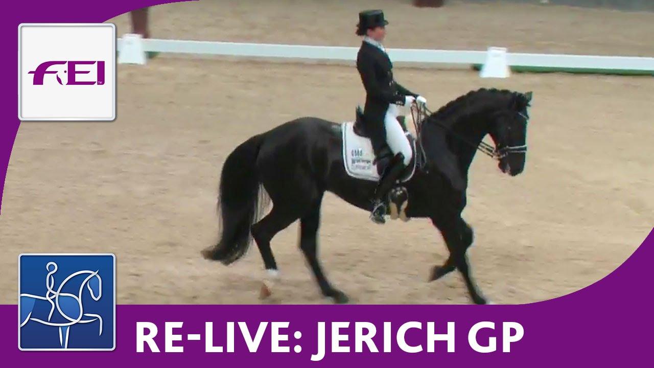 Re Live Dressage Cdi4 Mevisto Amadeus Horse Indoors Jerich