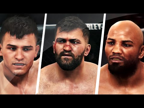 Ea Sports UFC - 3 New Free DLC Fighters Preview Gameplay Commentary