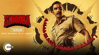 Simmba | Trailer | Ranveer Singh, Sara Ali Khan & Sonu Sood | Streaming 21st March On ZEE5