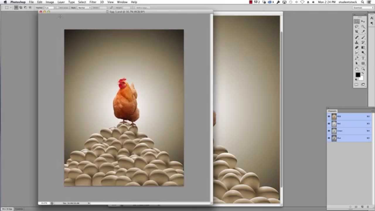 Photoshop Tutorial - How to reduce picture file size (jpg) - YouTube