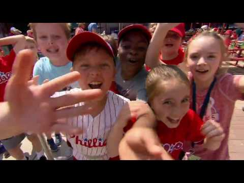 Holy Child School at Rosemont ~ 3rd Grade class trip to the Phillies game - on CSN