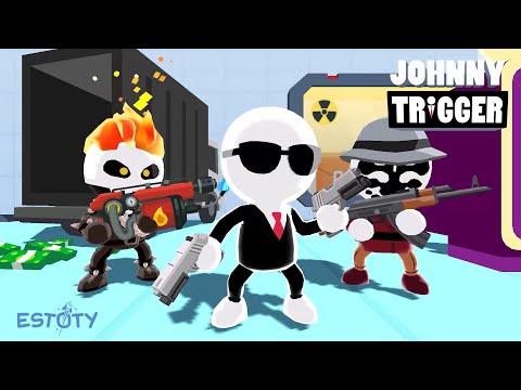 Johnny Trigger Official Trailer | Estoty & SayGames