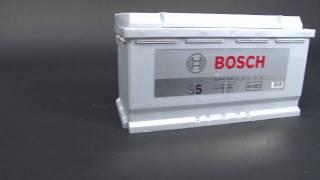 Аккумулятор Bosch S5 Silver Plus 100 ah(Аккумулятор Bosch S5 Silver Plus 100 ah подробнее на http://electromotor.com.ua/video/battery/3389-bosch-s5-silver-plus-100-ah Модель Аккумулятор ..., 2012-02-14T12:41:56.000Z)