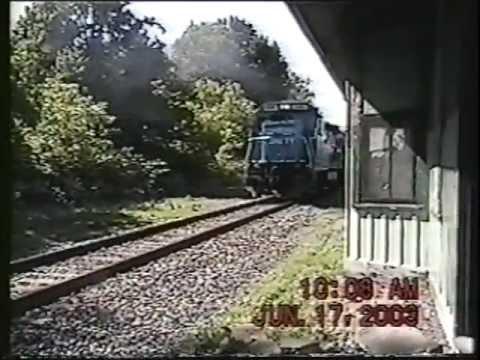 CSX B778 in Lacona NY 6-17-2003