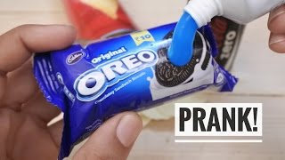 Repeat youtube video 3 Awesome Snack Pranks You Can Do - HOW TO PRANK