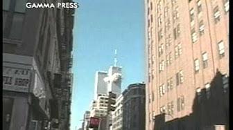 1st Plane Hit Flight 11 American Airlines Crash Youtube