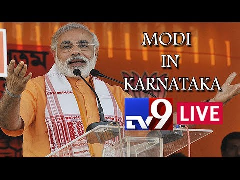 PM Modi addresses Public Meeting LIVE || Belgaum || Karnataka Assembly elections 2018 || TV9