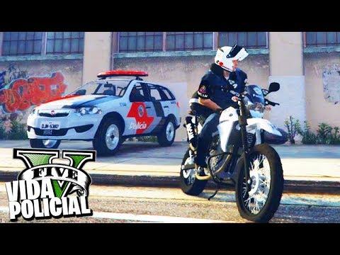 GTA V: ROLEPLAY POLICIAL - TRABALHANDO na ROCAM de SÃO PAULO! #125