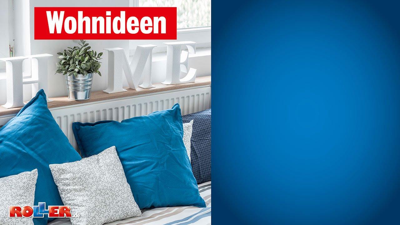 Schlafzimmer romantisch und schön gestalten - ROLLER Wohnideen - YouTube