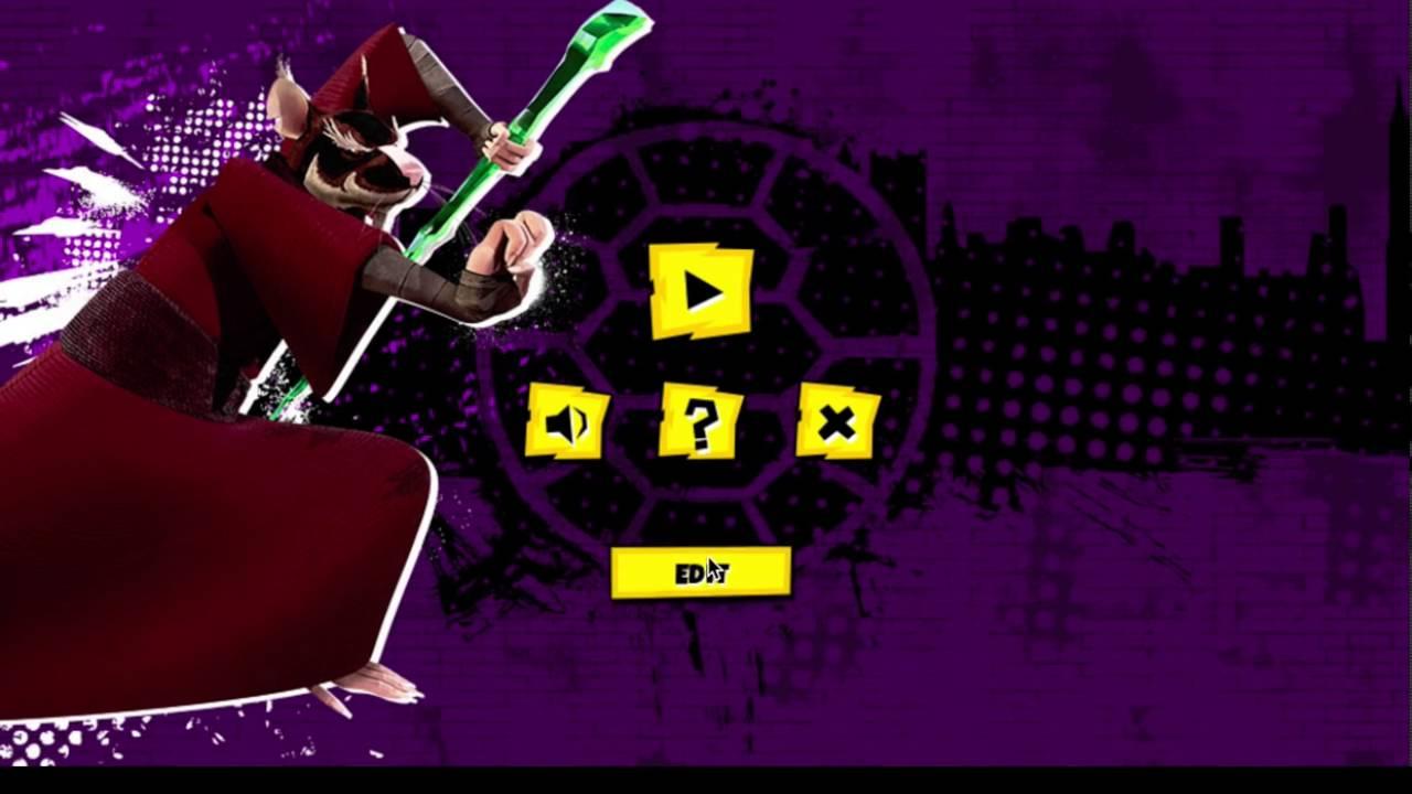 Игра Черепашки Ниндзя битва комиксов Прохождения - YouTube