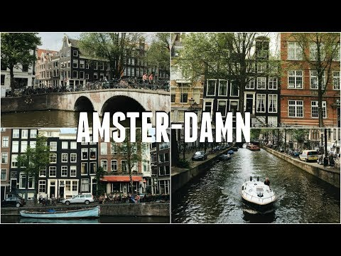 Ending our Trip on a High in AmsterDAM | Off the Rails #14