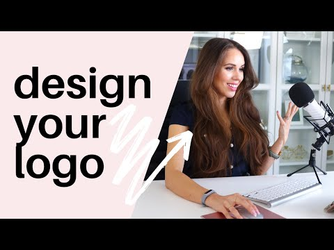 How To Design A Logo For Free [Canva Tutorial 2019] thumbnail
