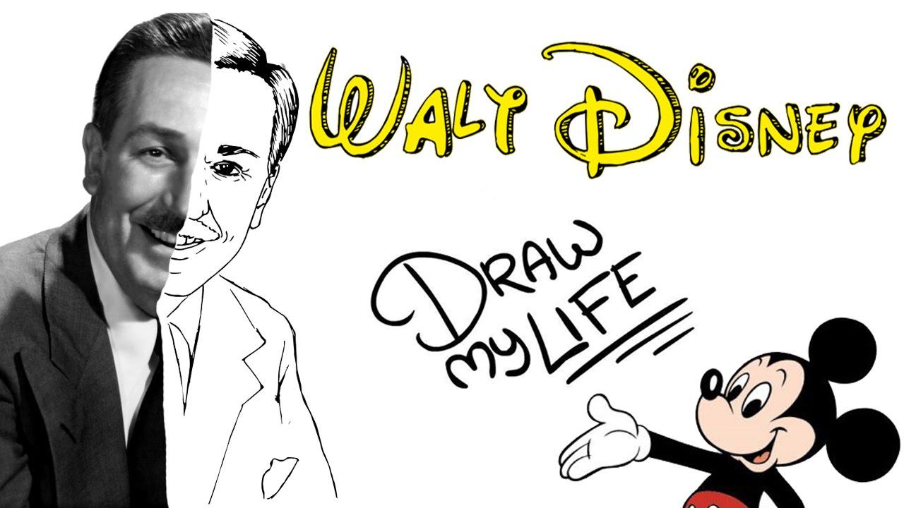 WALT DISNEY | Draw My Life