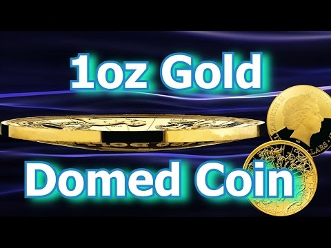 1st Gold Domed Coin From Royal Australian Mint