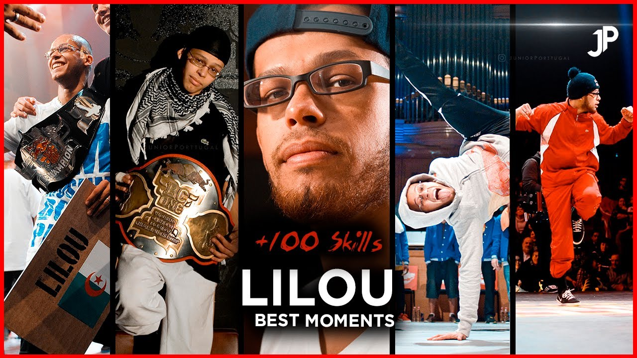 Bboy Lilou, Best Moments 🔥 +100 Moves Skills