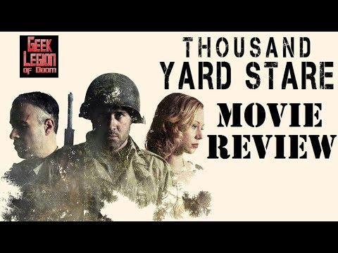 THOUSAND YARD STARE ( 2018 Adam Munro ) World War II Action Movie Review