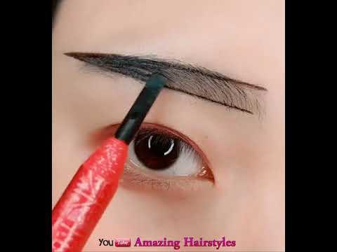 Hướng dẫn kẻ chân mày – Eyebrow Tutorial –  Easy Eyebrow Tutorial For Beginners  P2