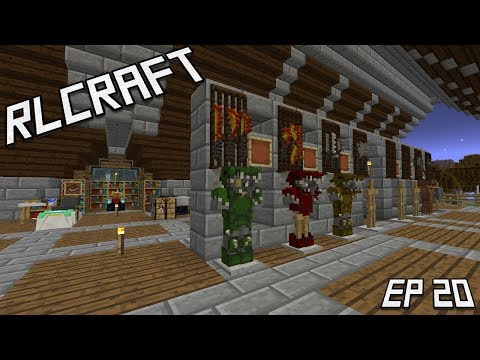 RLCraft: Runecrafting And Pieces Of Golem Armor! Ep.20 (Minecraft 1.12)