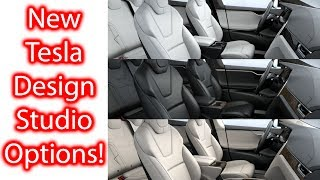 NO More Leather Seats for Tesla & Model 3 leaks!