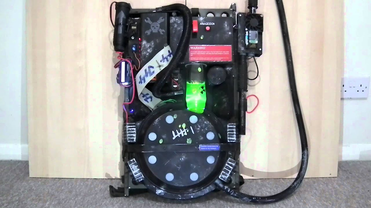 Proton Pack Upgraded Ghostbusters Costume Youtube