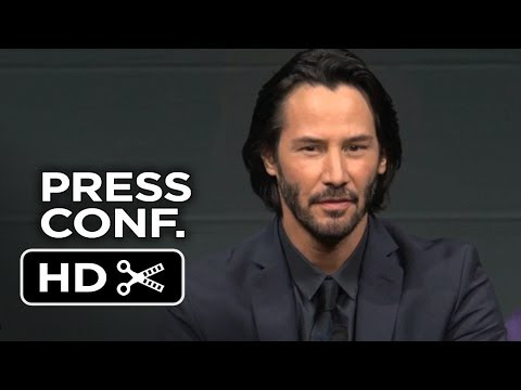 47 Ronin Japanese Press Conference (2013) - Keanu Reeves Movie HD