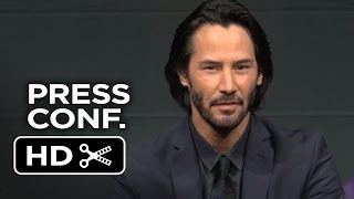 Repeat youtube video 47 Ronin Japanese Press Conference (2013) - Keanu Reeves Movie HD