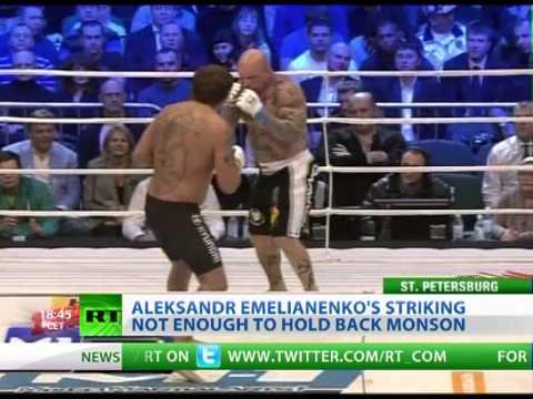 Monson beats Emelianenko