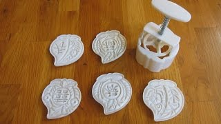 Moon Cake Mold 100g Review in 1080p HD