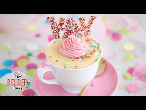 Celebration Mug Cake Recipe & Giveaway (1 Million Subscriber Celebration)