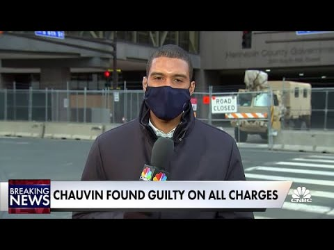 People feel bittersweet after Chauvin found guilty on all charges