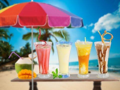 5 Summer Beverages Recipes | Lassi Recipes | Exotic Indian Yogurt-base Smoothie Drinks