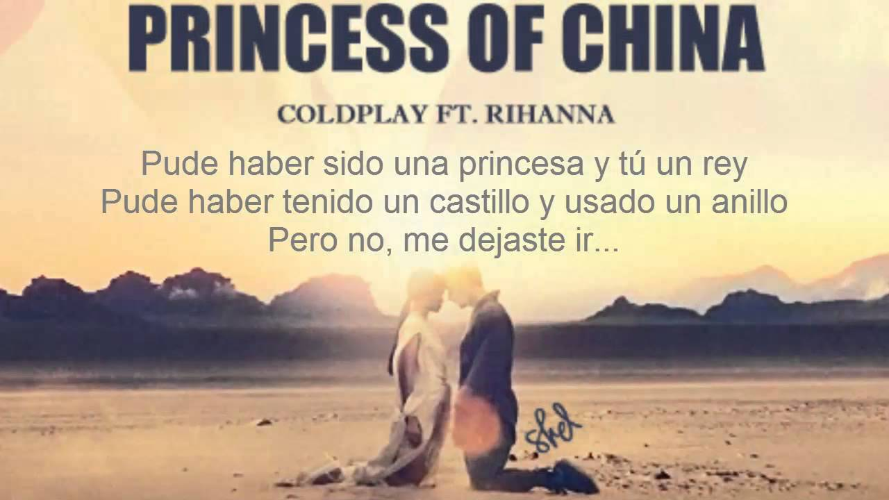 Resultado de imagen de coldplay princess of china