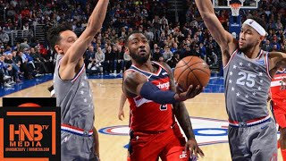 Philadelphia Sixers vs Washington Wizards Full Game Highlights | 11.30.2018, NBA Season