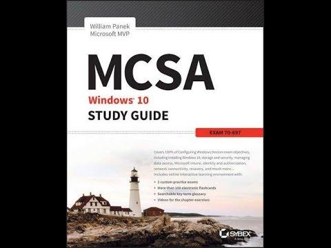 Pdf Mcsa Microsoft Windows 10 Study Guide Exam 70 697 Youtube