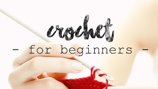 CROCHET FOR BEGINNERS | Lesson 1: Slipknot and Chains ♥ CROCHET LOVERS