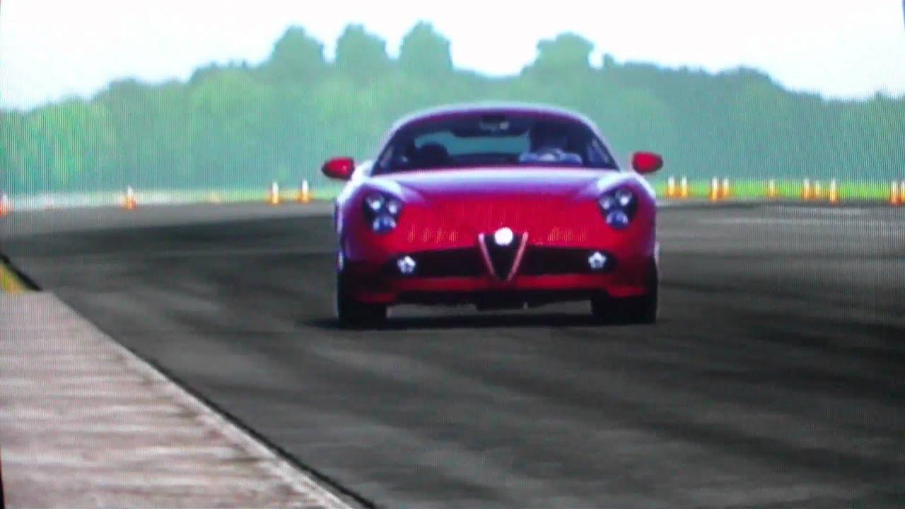 forza 4 alfa romeo 8c competizione top gear - youtube