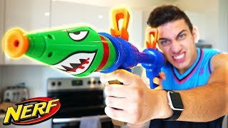 NERF FORTNITE ROCKET LAUNCHER IN REAL LIFE! (Should You BUY This Fortnite Nerf Gun?)