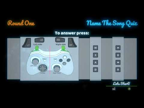 Name The Song Quiz - First Round