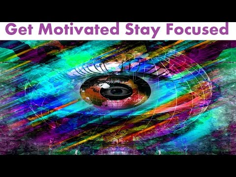 Rewire Your Brain To Stay Motivated Focused And Goal Oriented | Subliminal Isochronic Meditation