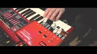 Nord Electro + Organic Sound 2- eDrawbar MD-1 + Halfmoon switch, hammond sound!