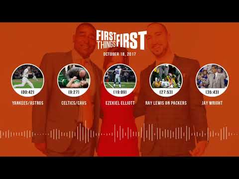 First Things First audio podcast(10.18.17)Cris Carter, Nick Wright, Jenna Wolfe | FIRST THINGS FIRST