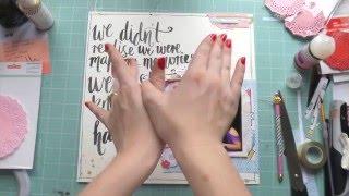 Scraptastic All of You Kit ~ Making Memories ~ Scrapbooking Process Video