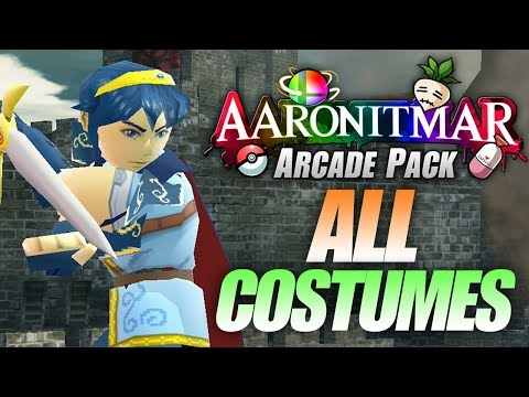 ALL SKINS in Arcade Mod Pack v5 – Aaronitmar