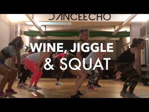 Dancehall Fitness - Hot Up Your Body! #WineJiggleSquat l in Leipzig & in Berlin